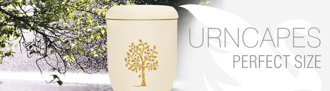 Urnen Urnstyle Banner Stickmotiv Baum des Lebens