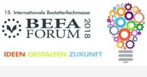 Messe BEFA 2018 Urnen Urncapes