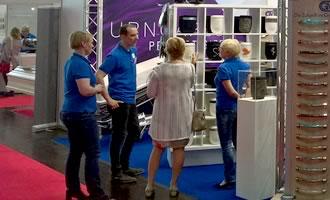 Großes Kundeninteresse BEFA 2018 Urnen Urncapes