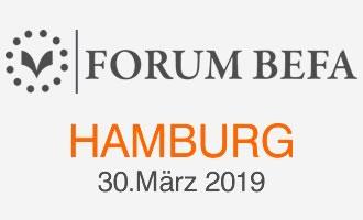 Logo BEFA Forum Hamburg 2019
